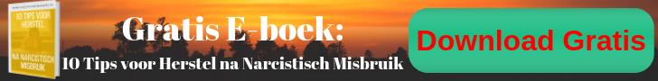 Gratis e-boek: 10 Tips voor Herstel na Narcistisch Misbruik